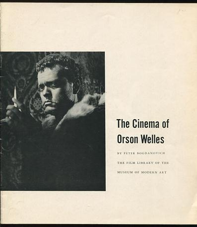 Image for The Cinema of Orson Welles