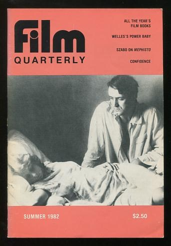 Image for Film Quarterly (Summer 1982) [cover: István Szabó's CONFIDENCE]