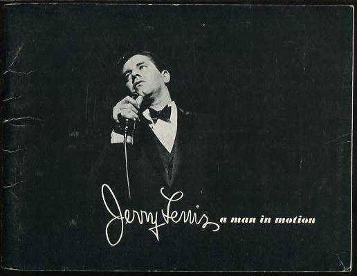 Image for Jerry Lewis; a man in motion