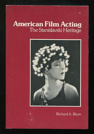 Image for American Film Acting: The Stanislavski Heritage