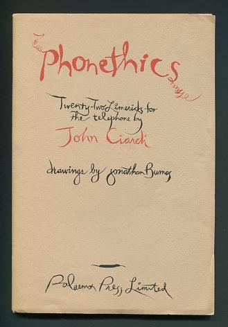 Image for Phonethics: Twenty-Two Limericks for the Telephone [*SIGNED*]