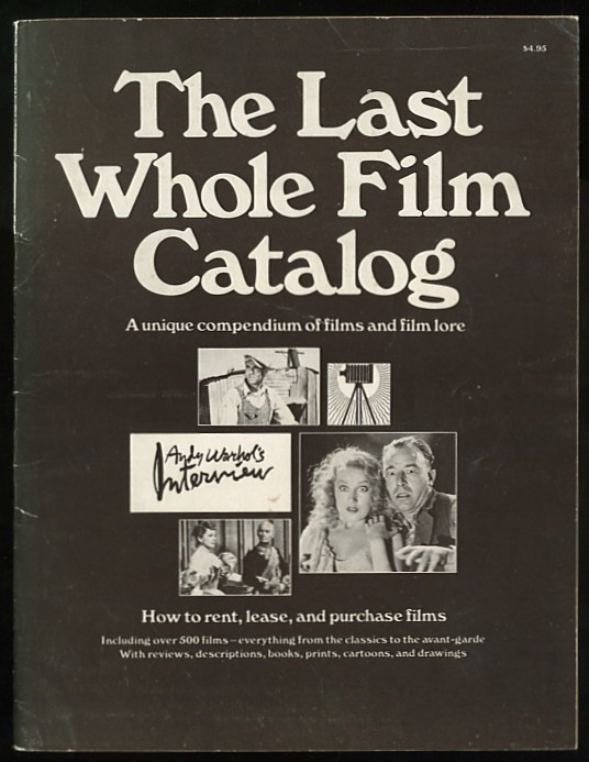 Image for The Last Whole Film Catalog