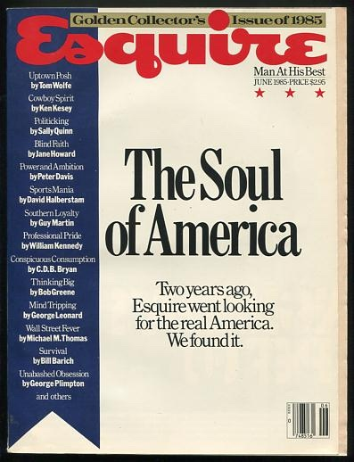 Image for Esquire (June 1985) [special issue: The Soul of America]