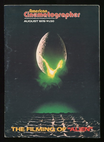 Image for American Cinematographer (August 1979) [cover: ALIEN]