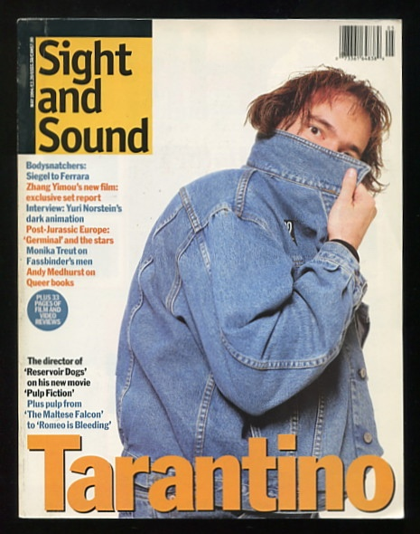 Image for Sight and Sound (May 1994) [cover: Quentin Tarantino]