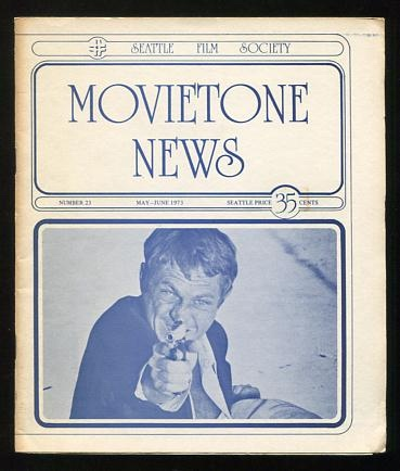 Image for Movietone News; issue number 23 (May-June 1973) [cover: Steve McQueen in THE GETAWAY]
