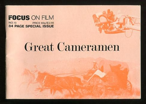 "Image for Focus on Film (No. 13, 1973) [special ""Great Cameramen"" issue]"