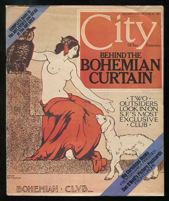 Image for City Of San Francisco (issue of December 16, 1975) [cover story on The Bohemian Club]