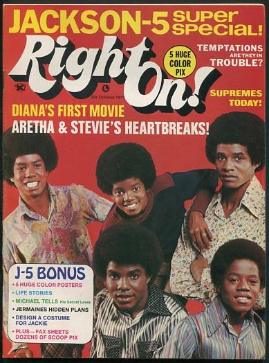 Image for Right On! [magazine] (the first twelve issues, complete)