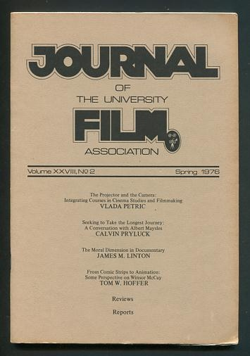 Image for The Journal of the University Film Association (Spring 1976)