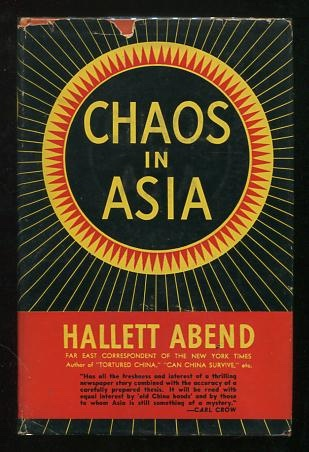 Image for Chaos in Asia