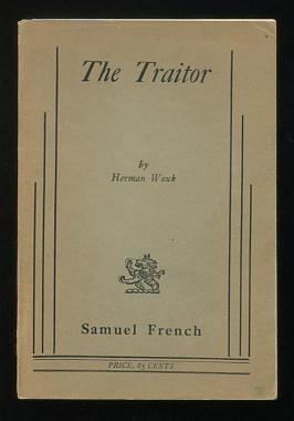 Image for The Traitor; a play in two acts