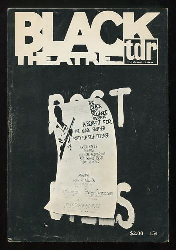 Image for TDR / The Drama Review (Summer 1968) [special issue: Black Theatre]