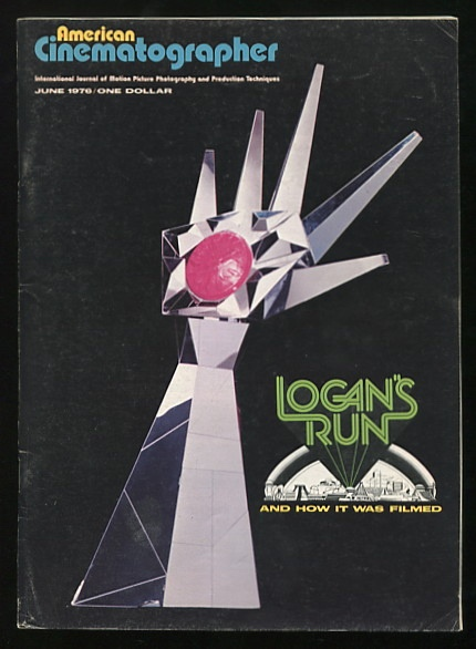 Image for American Cinematographer (June 1976) [cover: LOGAN'S RUN]