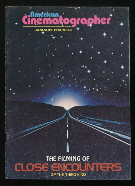 Image for American Cinematographer (January 1978) [cover: CLOSE ENCOUNTERS OF THE THIRD KIND]