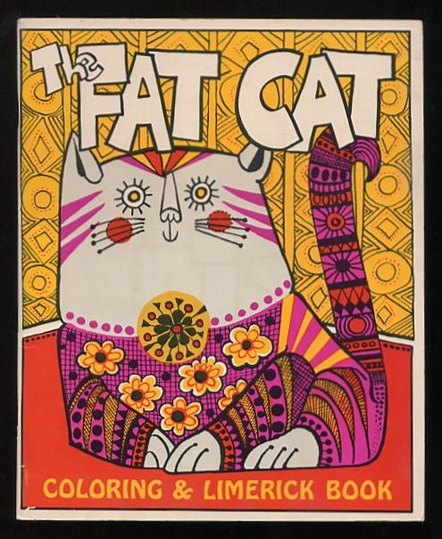 Image for The Fat Cat Coloring & Limerick Book