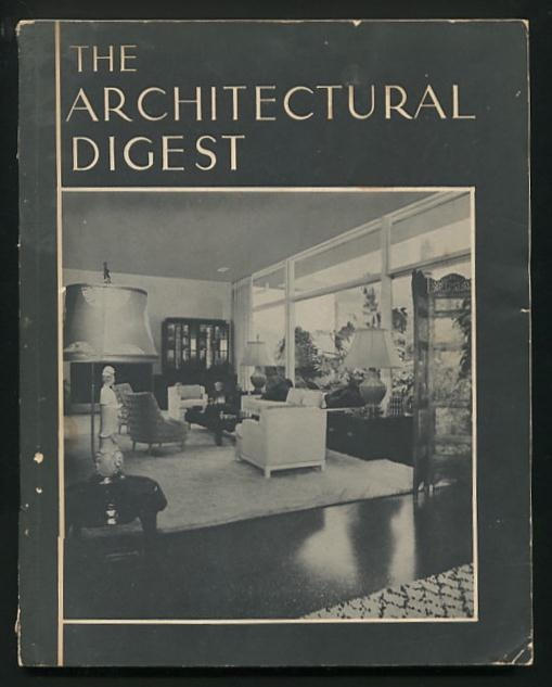 Image for The Architectural Digest - Volume XV, Number 4 [ca. 1955]