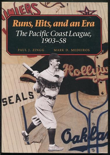 Image for Runs, Hits, and an Era: The Pacific Coast League, 1903-58