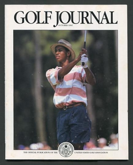 Image for Golf Journal (October 1994) [cover: Tiger Woods]