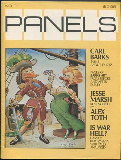 Image for Panels (issue no. 2, Spring 1981)