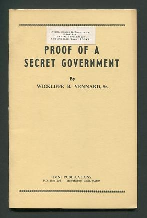 Image for Proof of a Secret Government