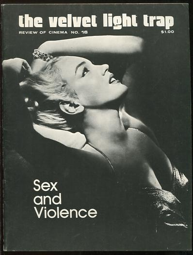 Image for The Velvet Light Trap (No. 16, Fall 1976): Sex and Violence [cover: Marilyn Monroe]