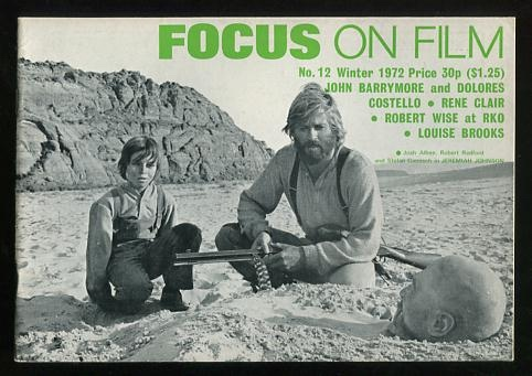 Image for Focus on Film (No. 12, Winter 1972) [cover: Robert Redford in JEREMIAH JOHNSON]