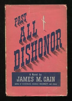 Image for Past All Dishonor