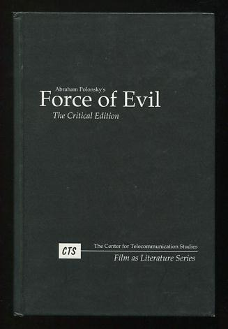 Image for Force of Evil: The Critical Edition