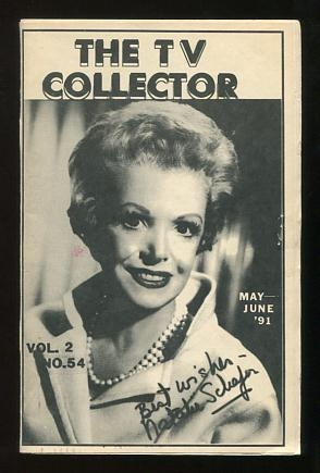 Image for The TV Collector (May-June 1991 issue) [cover: Natalie Schafer]