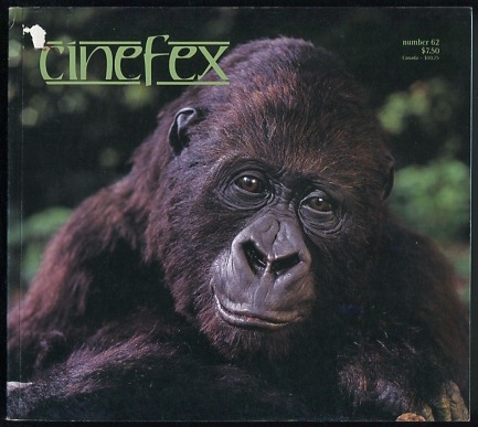Image for Cinefex - issue 62 (June 1995)