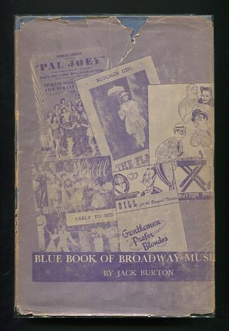 Image for The Blue Book of Broadway Musicals