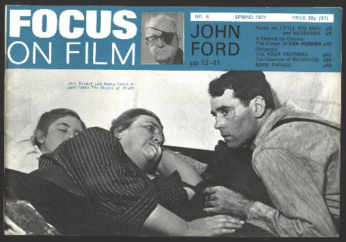 Image for Focus on Film (No. 6, Spring 1971) [special John Ford section]