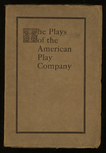 Image for The Catalogue of The American Play Co., With Original Casts [cover title: The Plays of the American Play Company]