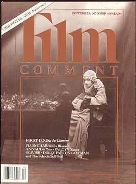 Image for Film Comment (September-October 1989) [Lillian Gish/INTOLERANCE cover]