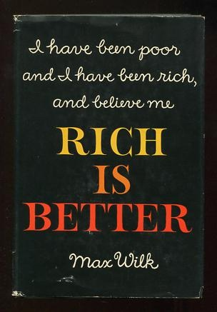 Image for Rich is Better