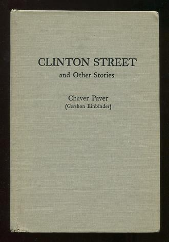 Image for Clinton Street and Other Stories (translated from the Yiddish by Henry Goodman)