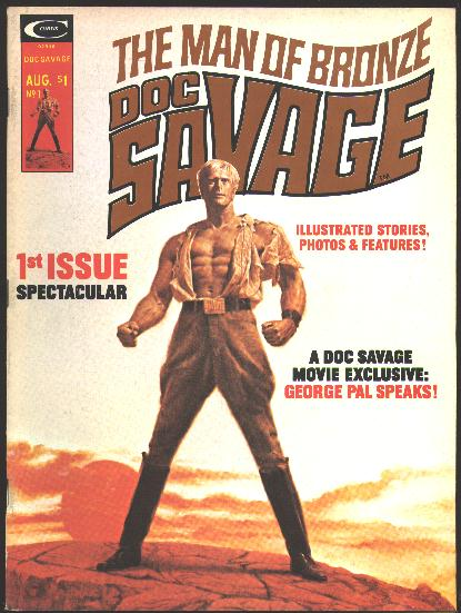 Image for [Stan Lee presents The Man of Bronze] Doc Savage (August, 1975) [issue no. 1]