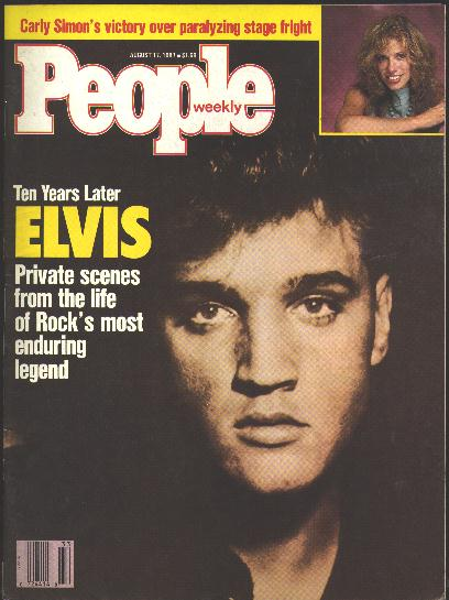 Image for People Weekly [magazine] (August 17, 1987)  [Elvis Presley cover story]
