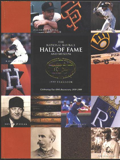 Image for The National Baseball Hall of Fame and Museum 1999 Yearbook [60th Anniversary issue]
