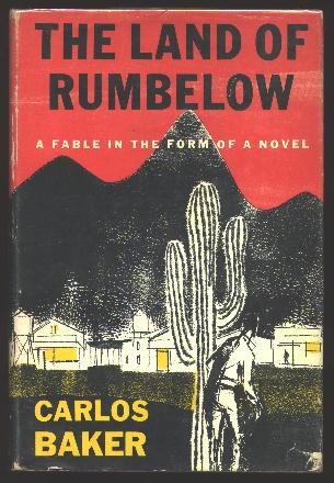 Image for The Land of Rumbelow: A Fable in the Form of a Novel